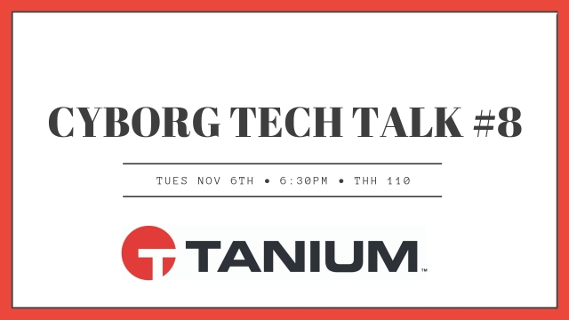 Cyborg Tech Talk #8