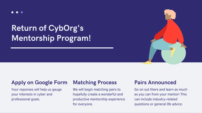 cyborg mentorship flyer